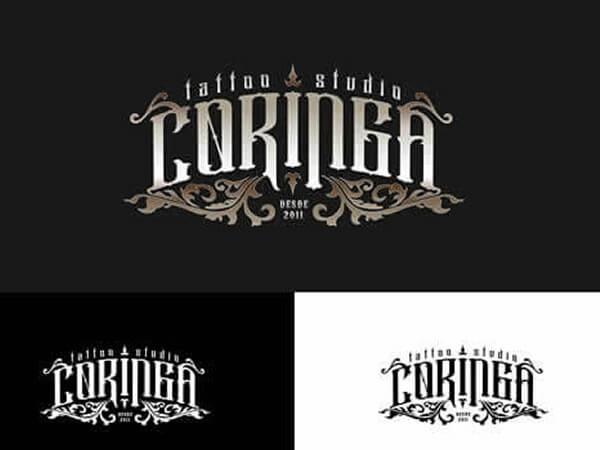 Criação de Logo para Estúdio de Tatuagem