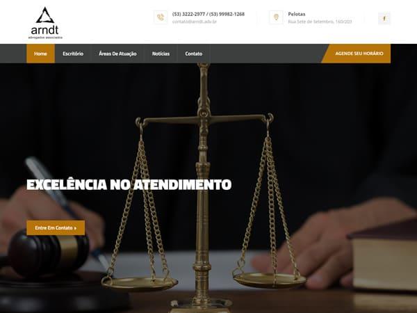 Criação de Site para Escritório de Advocacia